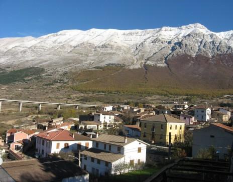 Assergi before the earthquake