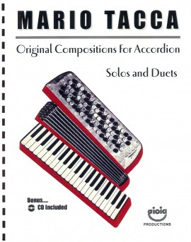 Original Compositions for the Accordion by Mario Tacca